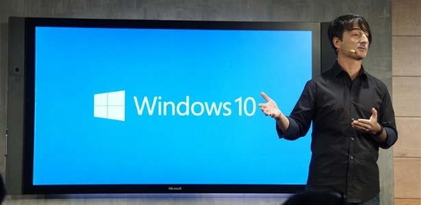 Joe Belfiore presents Windows 10 and Windows 10 for Phone on January 21, 2015